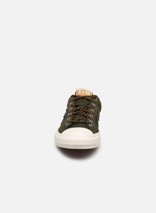 Baskets Converse Star Player Mountain Inspiration Ox Vert vue portées chaussures