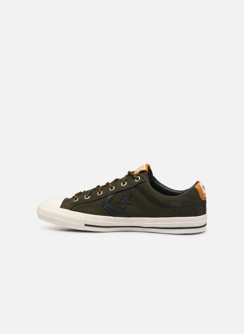 Sneaker Converse Star Player Mountain Inspiration Ox grün ansicht von vorne
