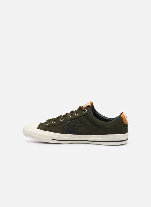 Baskets Converse Star Player Mountain Inspiration Ox Vert vue face