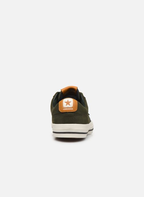 Baskets Converse Star Player Mountain Inspiration Ox Vert vue droite
