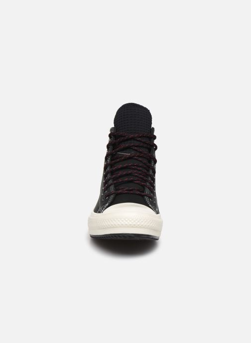 Baskets Converse Chuck Taylor All Star WP Boot Mountain Inspiration Hi Marron vue portées chaussures