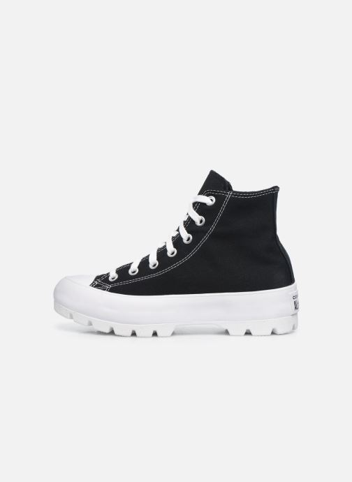 Sneakers Converse Chuck Taylor All Star Lugged Basic Canvas Hi Zwart voorkant