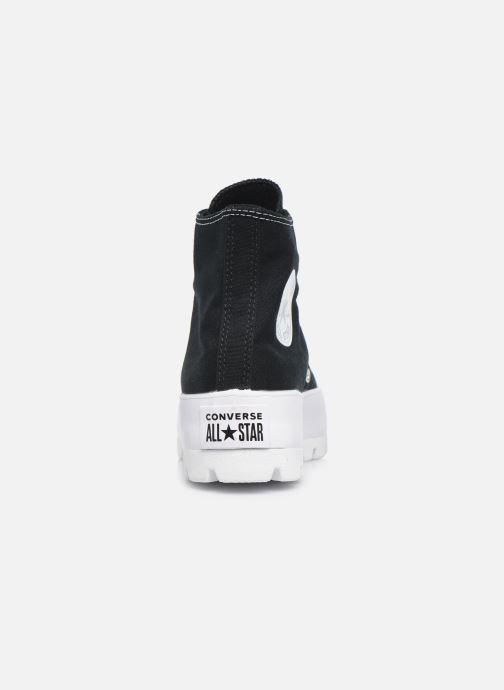 Sneakers Converse Chuck Taylor All Star Lugged Basic Canvas Hi Zwart rechts
