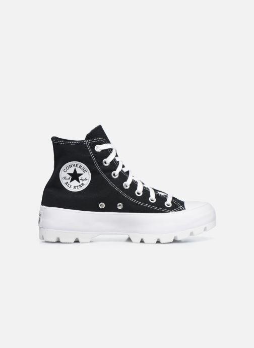 Sneakers Converse Chuck Taylor All Star Lugged Basic Canvas Hi Zwart achterkant