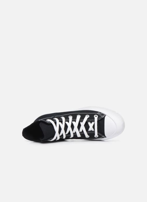Sneakers Converse Chuck Taylor All Star Lugged Basic Canvas Hi Zwart links