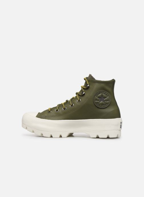 Trainers Converse Chuck Taylor All Star Lugged Winter Frosted Dimensions Hi Green front view