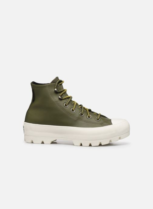 Trainers Converse Chuck Taylor All Star Lugged Winter Frosted Dimensions Hi Green back view