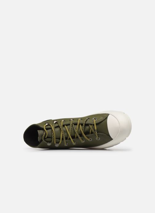 Trainers Converse Chuck Taylor All Star Lugged Winter Frosted Dimensions Hi Green view from the left