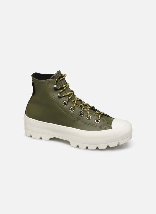 Trainers Converse Chuck Taylor All Star Lugged Winter Frosted Dimensions Hi Green detailed view/ Pair view