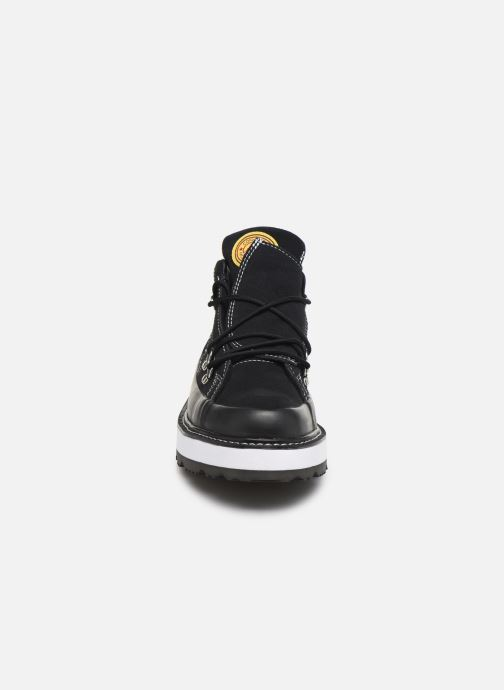 Baskets Converse One Star Boot Frosted Dimensions Mid Noir vue portées chaussures