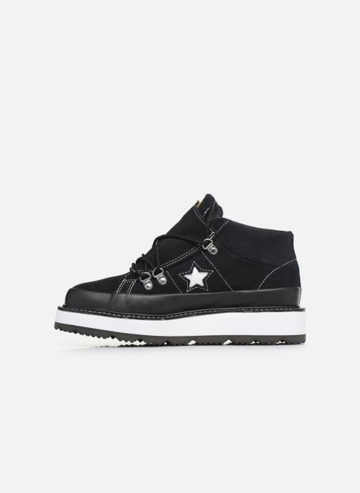 Baskets Converse One Star Boot Frosted Dimensions Mid Noir vue face