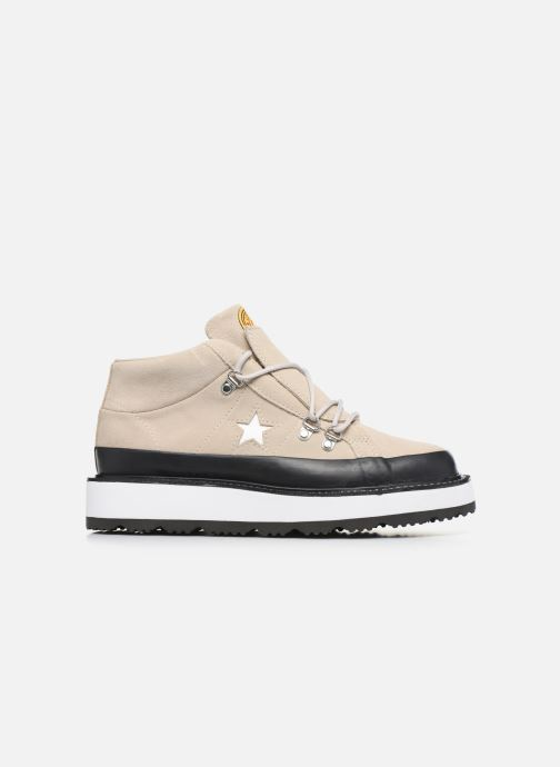 Deportivas Converse One Star Boot Frosted Dimensions Mid Beige vistra trasera