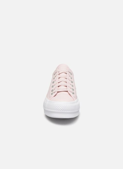 Trainers Converse Chuck Taylor All Star Lift Intergalactic Leather Ox Pink model view