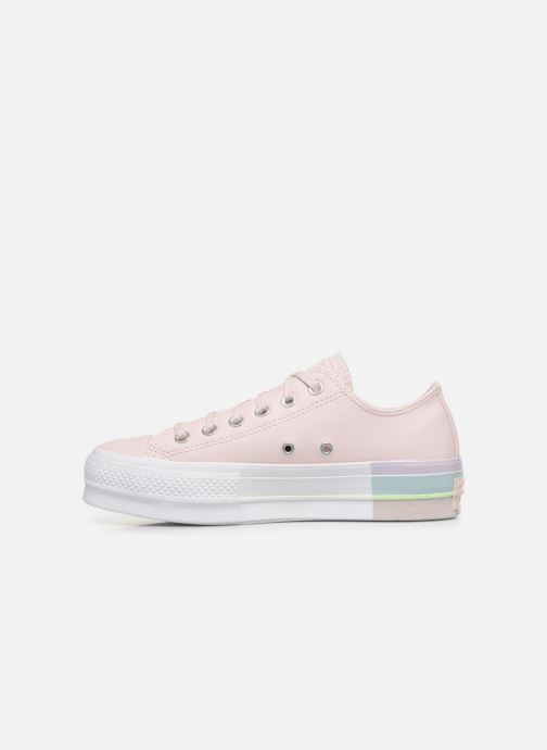 Trainers Converse Chuck Taylor All Star Lift Intergalactic Leather Ox Pink front view