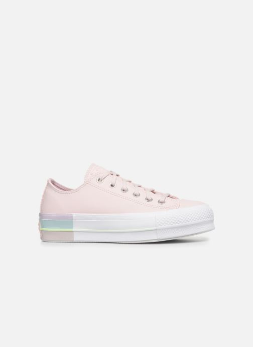 Trainers Converse Chuck Taylor All Star Lift Intergalactic Leather Ox Pink back view