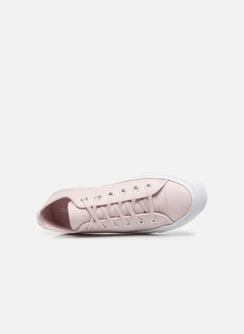 Trainers Converse Chuck Taylor All Star Lift Intergalactic Leather Ox Pink view from the left