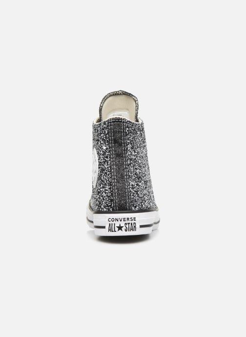 Sneakers Converse Chuck Taylor All Star Galaxy Dust Hi Grå Se fra højre