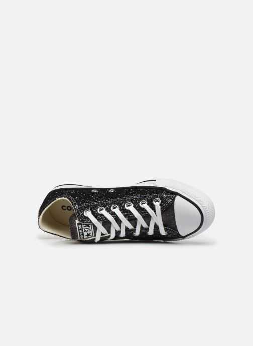 Trainers Converse Chuck Taylor All Star Galaxy Dust Ox Black view from the left