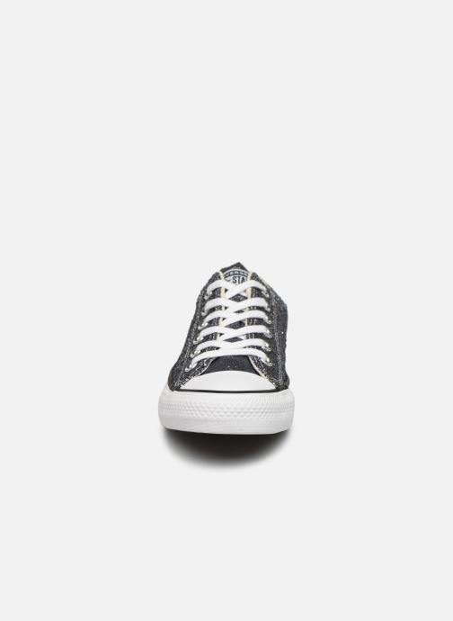Sneaker Converse Chuck Taylor All Star Galaxy Dust Ox grau schuhe getragen