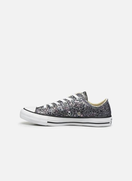 Sneaker Converse Chuck Taylor All Star Galaxy Dust Ox grau ansicht von vorne