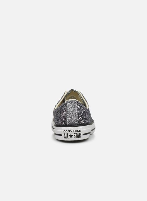 Sneaker Converse Chuck Taylor All Star Galaxy Dust Ox grau ansicht von rechts