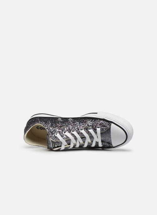 Sneaker Converse Chuck Taylor All Star Galaxy Dust Ox grau ansicht von links