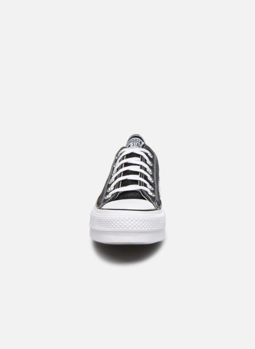 Baskets Converse Chuck Taylor All Star Lift Galaxy Dust Ox Noir vue portées chaussures