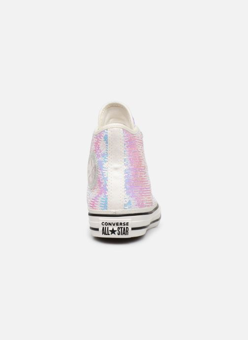 Trainers Converse Chuck Taylor All Star Minisequins Hi Multicolor view from the right