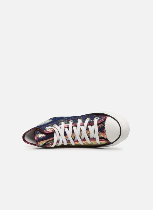Trainers Converse Chuck Taylor All Star Minisequins Hi Multicolor view from the left