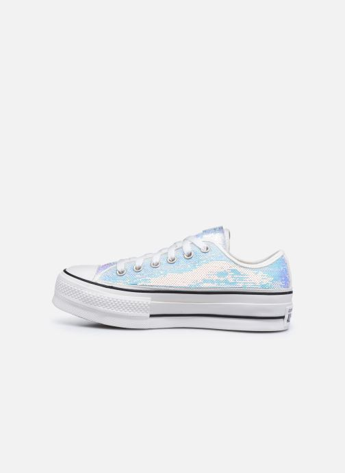 Baskets Converse Chuck Taylor All Star Lift Minisequins Ox Multicolore vue face