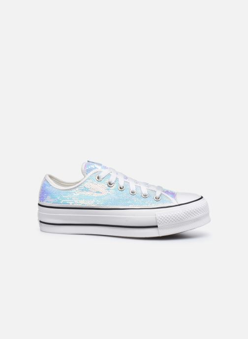 Trainers Converse Chuck Taylor All Star Lift Minisequins Ox Multicolor back view