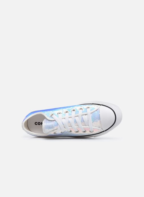 Trainers Converse Chuck Taylor All Star Lift Minisequins Ox Multicolor view from the left