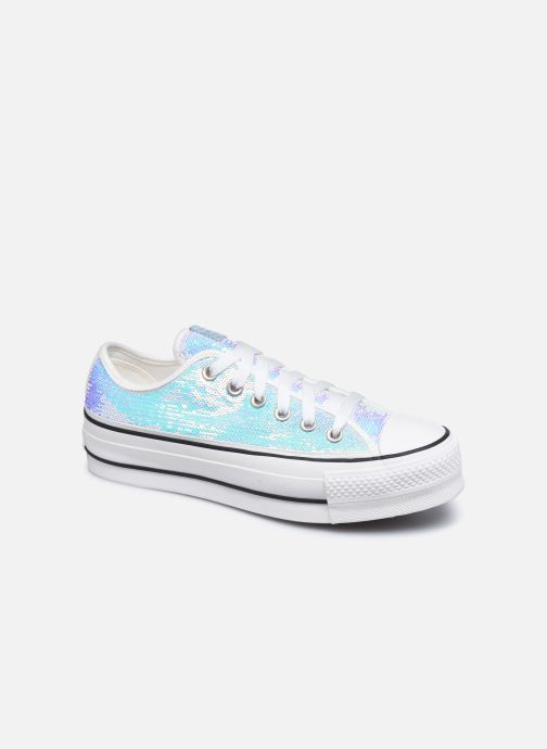 Trainers Converse Chuck Taylor All Star Lift Minisequins Ox Multicolor detailed view/ Pair view