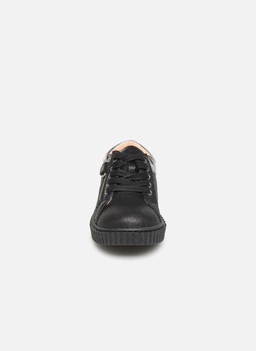 Baskets Mod8 Fiesta Noir vue portées chaussures