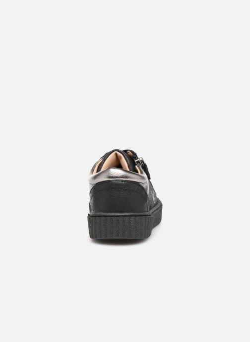 Baskets Mod8 Fiesta Noir vue droite