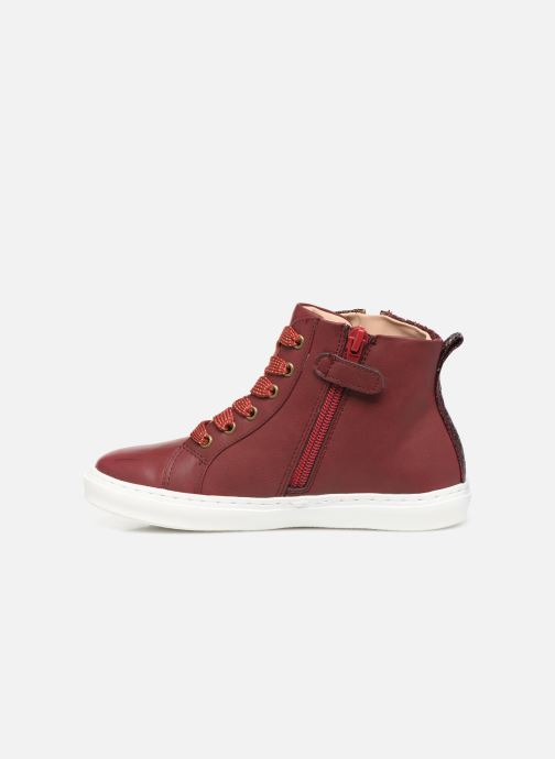 Trainers Mod8 Lisi Burgundy front view