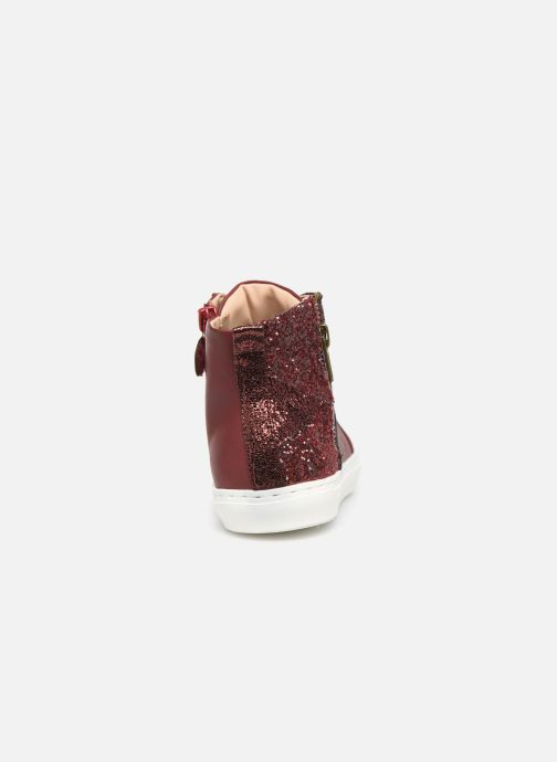 Trainers Mod8 Lisi Burgundy view from the right