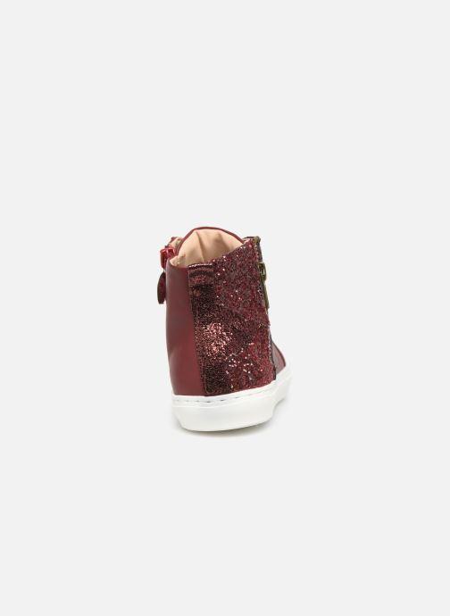 Sneaker Mod8 Lisi weinrot ansicht von rechts