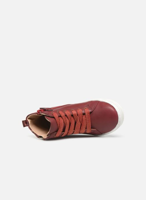 Trainers Mod8 Lisi Burgundy view from the left