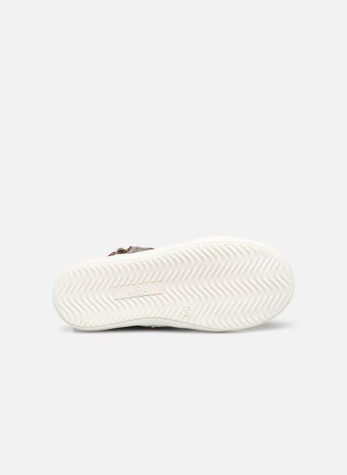 Sneaker Mod8 Lisi weinrot ansicht von oben