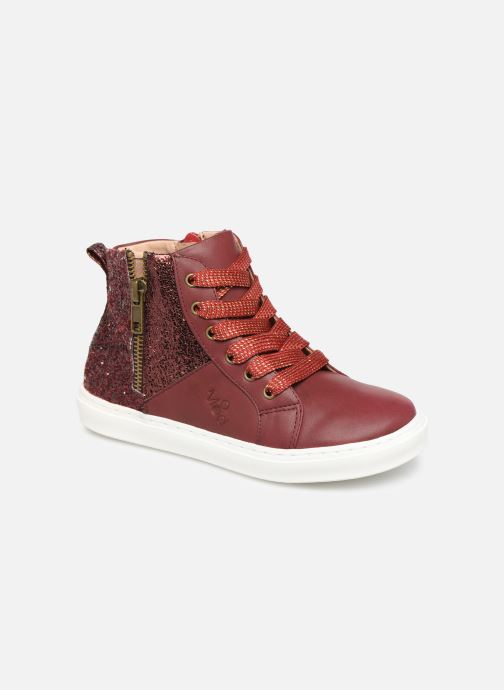 Trainers Mod8 Lisi Burgundy detailed view/ Pair view