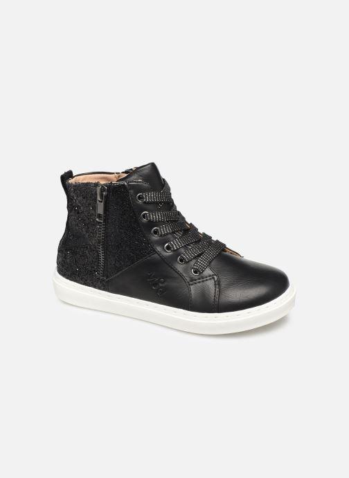 Sneakers Mod8 Lisi Zwart detail