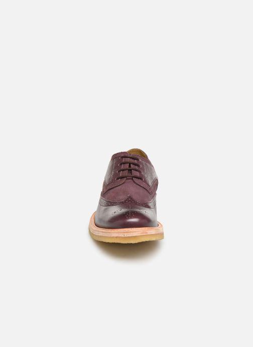 Chaussures à lacets TBS Aderley Bordeaux vue portées chaussures