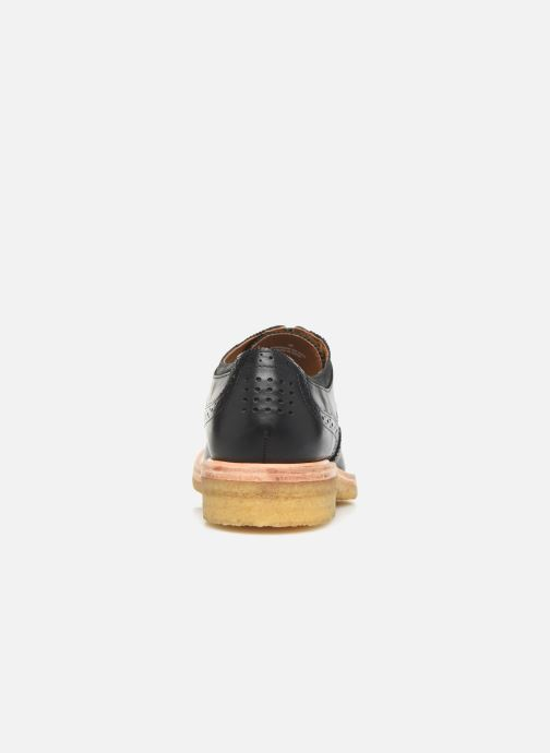 Zapatos con cordones TBS Aderley Azul vista lateral derecha
