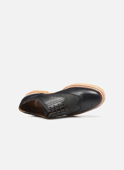 Zapatos con cordones TBS Aderley Azul vista lateral izquierda