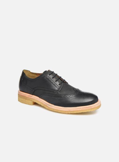 Zapatos con cordones TBS Aderley Azul vista de detalle / par