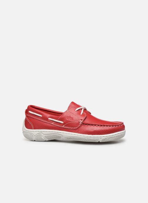 Chaussures à lacets TBS Nellia Rouge vue derrière