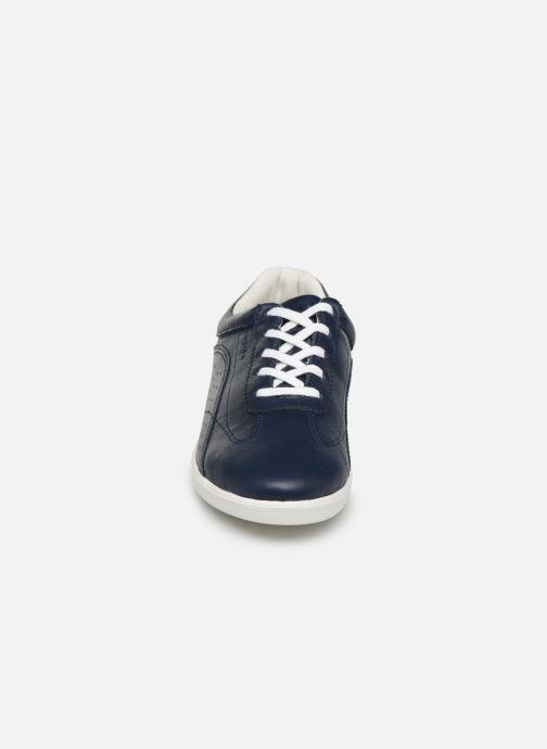 Baskets TBS Orchide Bleu vue portées chaussures