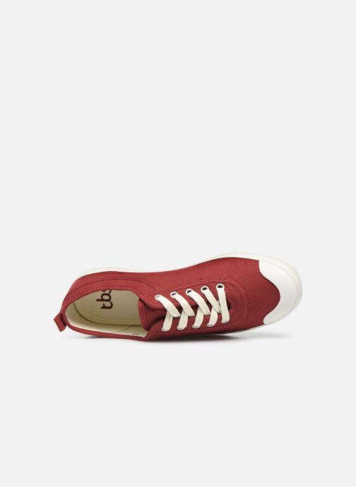 Sneakers TBS Pernick S Rosso immagine sinistra