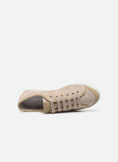 Sneakers Camper UNO W Beige immagine sinistra